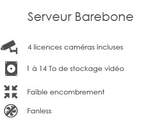 Serveur Barebone Seek-one