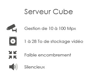 Serveur Cube Seek-one